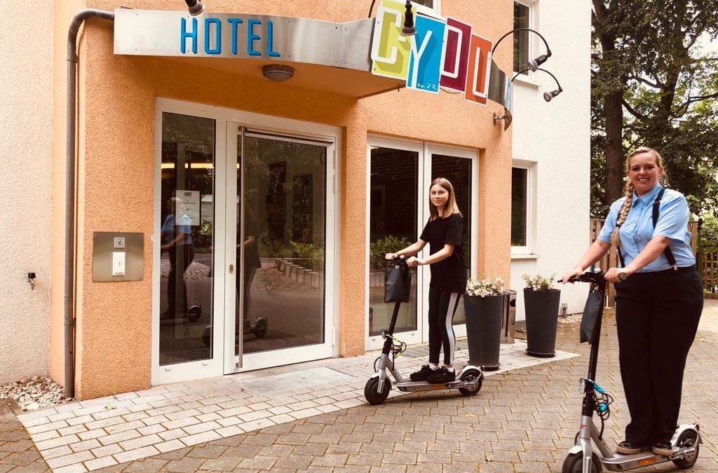 Gratis E-Scooter Nutzung für unsere Gäste