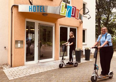 Bild Gratis E-Scooter Nutzung im C-YOU Hotel